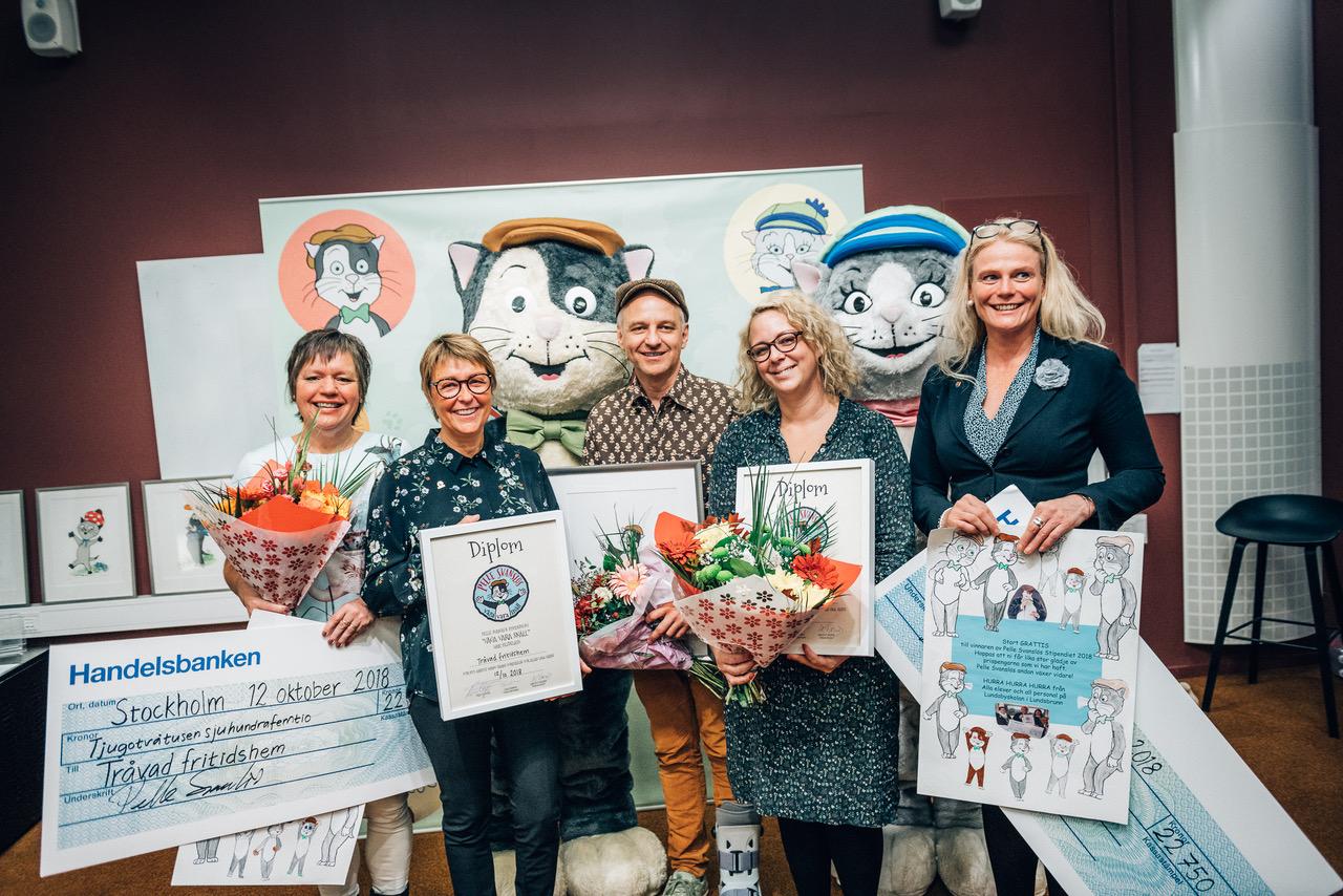 Vinnare Våga vara snäll stipendiet 2018