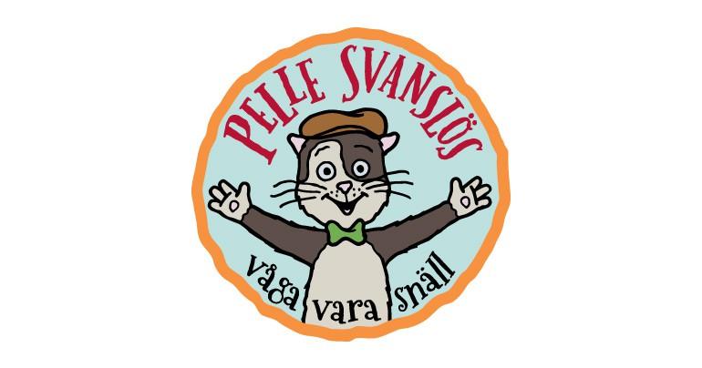 Pelle Svanslös logotyp